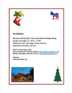 Holiday invitation 2015